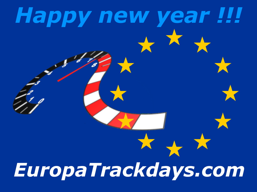 Trackdays in Europe in 2020
